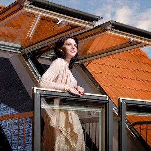 Мансардые окна и лестницы