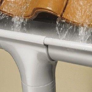 Установка водосточных систем и карнизной подшивки