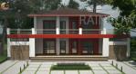 Руди Ричсиотти, 161м.кв соломенный дом