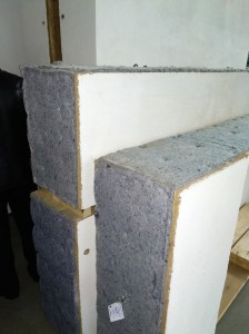 каркасный дом из соломы и глины
